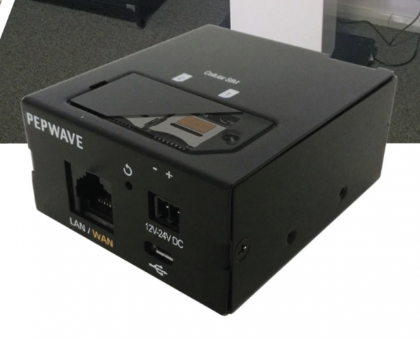 Pepwave SpeedFusion Engine for SD-WAN with 2 x North America 3G/4G/LTE  Modems